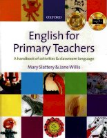 english for primary teachers oxford