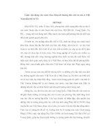 ĐỀ tài CUỘC vận ĐỘNG yêu nước THEO KHUYNH HƯỚNG dân CHỦ tư sản ở VIỆT NAM đầu THẾ kỉ XX