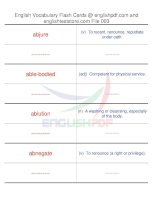 TOEFL IBT vocabulary flash cards03