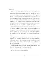 CHUYÊN đề DU LỊCH SINH THÁI TRONG các KHU bảo tồn THIÊN NHIÊN VIỆT NAM, TIỀM NĂNG, THỰC TRẠNG, GIẢI PHÁP và CHIẾN lược PHÁT TRIỂN