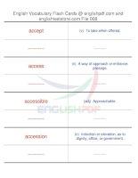TOEFL IBT vocabulary flash cards08