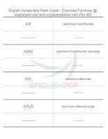 Vocabulary flash cards   chemical formulas07