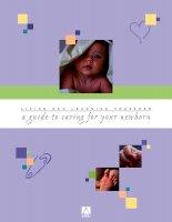 Hướng dẫn chăm sóc trẻ sơ sinh