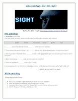 56565 video worksheet  short film sight