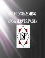 thuyết trình về JSP và custom tag