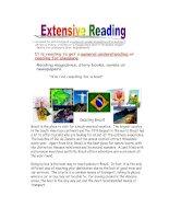 8034 extensive reading