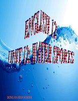 Bài giảng Tiếng Anh 12 unit 12: Water sports