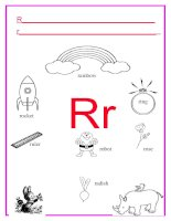 51268 alphabet letter r