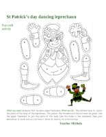 67229 st patricks day dancing leprechaun