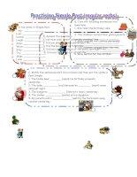 70210 practicing past simple regular verbs
