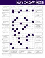 17045 easy crosswords 6