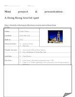 28278 a presentation on hong kong tourist spots