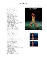4901 im alive lyric
