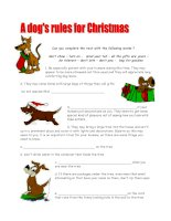 2708 a dogs rules for christmas