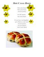 39439 hot cross buns