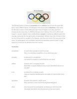 28191 the olympic games