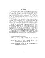ĐỀ tài TIÊU THỤ sản PHẨM ở các DOANH NGHIỆP sản XUẤT BIA HIỆN NAY, THỰC TRẠNG và GIẢI PHÁP