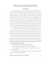 KHÓA LUẬN PHÂN TÍCH tài CHÍNH và BIỆN PHÁP NHẰM cải THIỆN TÌNH HÌNH tài CHÍNH tại CÔNG TY cổ PHẦN vận tải và DỊCH vụ PETROLIMEX hải PHÒNG