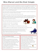 islcollective worksheets intermediate b1 upperintermediate b2 high school reading past simple ten miss marvel frown 16645258275689583df2d262 78393437