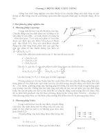 Chương 3: Động lực chất lỏng