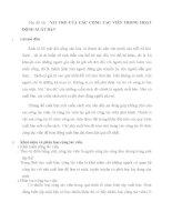 tiểu luận cao học VAI TRÒ của các CỘNG tác VIÊN TRONG HOẠT ĐỘNG XUẤT bản