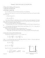 Chương 7 Tính toán thủy lực đường ống
