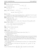 Tổng hợp 34 đề thi HK I môn toán lớp 7