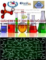 Tổng hợp bài tập hóa học hay lạ khó