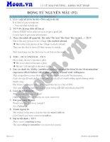13  động từ nguyên mẫu (p2)