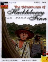 truyện tiếng anh:【1】12 the adventures of huckleberry