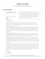 Cover letters11