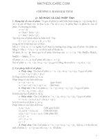 Giáo Trình Hàm Biến Phức (Có Ví dụ và Hướng dẫn giải các bài tập minh họa mỗi phần)