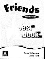 Friends starter 1 test book