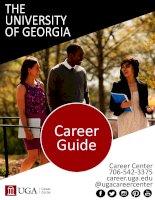 Career guide  university of georgia