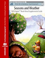 Seasons and weather   EngageNY