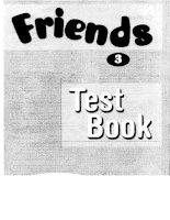 Friends 3 testbook
