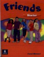 Friends starter students book