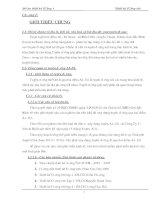 Thuyết minh đồ án đường 1