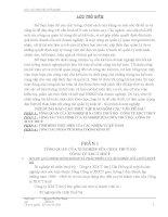 Báo Cáo Thực Tập Công Tác Tài Chính Của Xí Nghiệp Sửa Chữa Thuỷ Bộ - Công Ty Xdct Thuỷ
