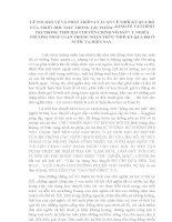 TIỂU LUẬN TRIẾT   lê NIN bảo vệ và PHÁT TRIỂN lý LUẬN THỜI kỳ QUÁ độ TRONG TP KINH tế và CHÍNH TRỊ TRONG THỜI đại CCVS  ý NGHĨA VIỆC NHẬN THỨC về TKQĐ ở VIỆT NAM