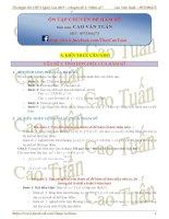 CAO TUẤN   tổng hợp chuyên đề hàm số PHẦN 1 gửi tặng HS 99
