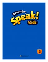 Everyone speak kids 3 SB keys