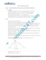 Bài toán thể tích khối đa diện có lời giải chi tiết (lớp 12 và ôn thi PTTHQG)