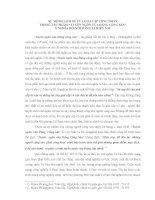TIỂU LUẬN CNXH   sứ MỆNH LỊCH sử của GIAI cấp CÔNG NHÂN TRONG tác PHẨM TUYÊN NGÔN của ĐẢNG CỘNG sản   ý NGHĨA đối với ĐẢNG TA HIỆN NAY