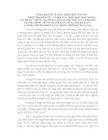 TIỂU LUẬN TRIẾT- LÊNIN BẢO VỆ  HỌC THUYẾT HÌNH THÁI KINH TẾ XÃ HỘI TRONG TP NHỮNG NGƯỜI BẠN DÂN - Ý NGHĨA PHƯƠNG PHÁP LUẬN TRONG THỜI ĐẠI NGÀY NAY