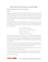 Văn mẫu lớp 11: Phân tích bài thơ Tương tư của Nguyễn Bính