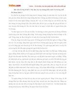 Bài văn mẫu lớp 10 số 3 đề 1: Hãy làm cây lau chứng kiến cảnh Vũ Nương chết