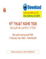 Phuong phap nghe t636 new TOEIC   tuantoeic com TUANTOLOGY 2012