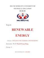 Thermal energy năng lượng nhiệt