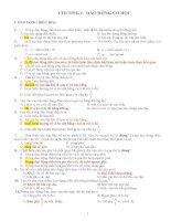 bài tập trắc nghiệm lý 12 có đáp án